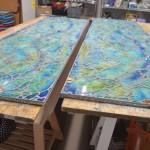 architectural mosaics glass mosaic mosaic art tempered glass mosaic utilitarian art  Glass Mosaic Countertop for Outdoor Kitchen 625505_10200504999723801_1686864383_n-150x150