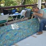architectural mosaics glass mosaic mosaic art tempered glass mosaic utilitarian art  Glass Mosaic Countertop for Outdoor Kitchen DSC_0188-150x150
