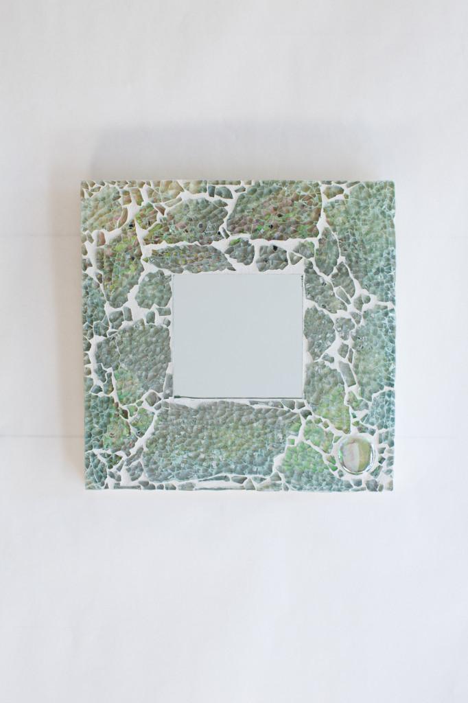 turquoise mosaic mirror 2