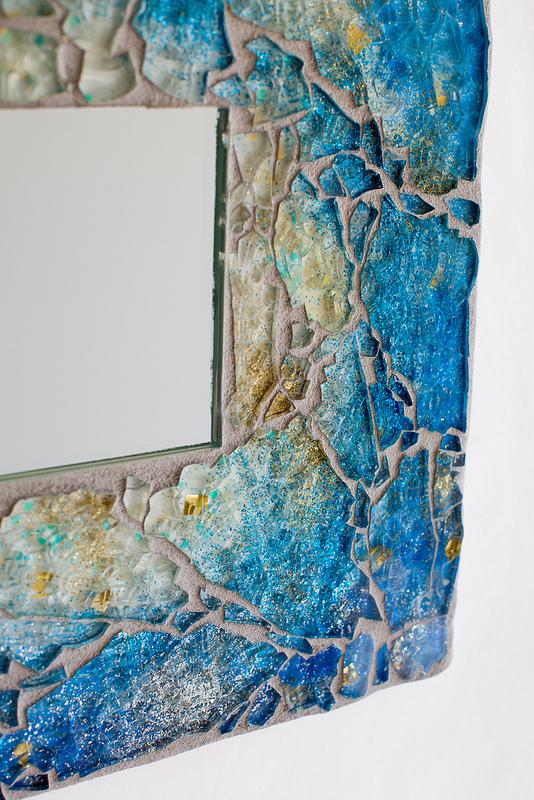 Uncategorized  Blue Sky Mosaic Mirror mirrorb2