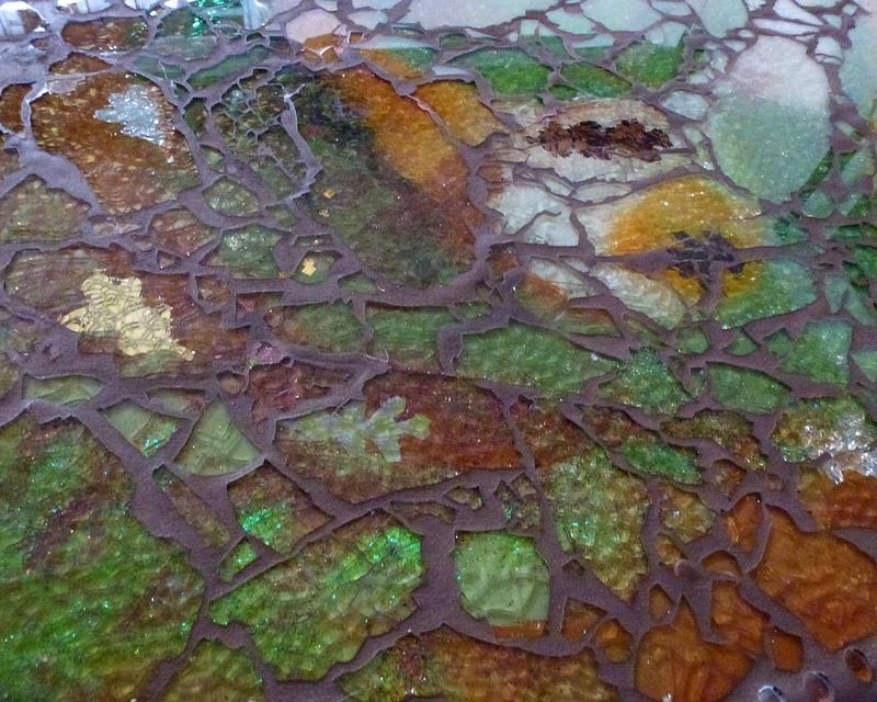 Uncategorized  Earthtone Mosaic Table tableb2