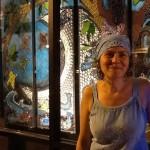 community art community mosaic glass mosaic glass mosaic mural moon mosaic mosaic mural mural art tree of life  Mosaic Mural for Vallejo Art Windows sophia_communitree_night-150x150