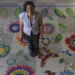 architectural mosaics co-creating mosaic art community art community mosaic glass mosaic glass mosaic mural mural art school art mosaic urban mosaic art youth mosaics  Hogan Middle School Mosaic Mural Completed!! hogan_floor_layout-150x150