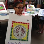 co-creating mosaic art community art community mosaic glass mosaic glass mosaic mural how to make mosaics mosaic classes instruction mosaic mural mural art Nature Mosaics school art mosaic youth mosaics  Youth Art Camp Mosaics 2014-07-10-11.13.07-150x150