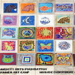 co-creating mosaic art community art community mosaic glass mosaic glass mosaic mural how to make mosaics mosaic classes instruction mosaic mural mural art Nature Mosaics school art mosaic youth mosaics  Youth Art Camp Mosaics vcaf_individual_projects_text_cropped-150x150