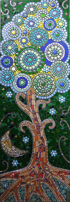 co-creating mosaic art glass mosaic glass mosaic mural large scale art big art mobile mosaic art mosaic classes instruction mystical mosaic art school art mosaic tree of life Uncategorized youth mosaics  Art Day!! Live Mosaic Art by Elementary School Students robert_semple_clean_bright-243x700